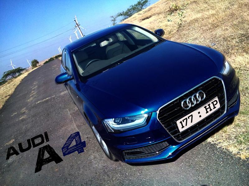 Audi A4 Mailer