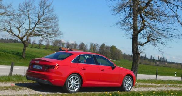 Audi New A4 Rear view 72442