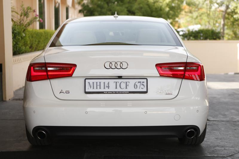 Audi A6 rear profile image