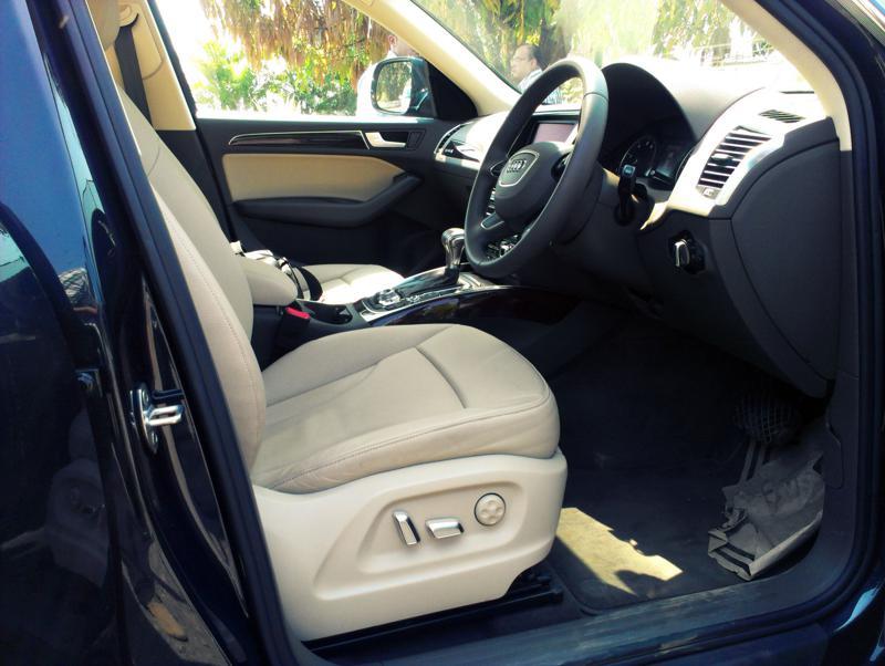 Audi Q5 Front Legroom