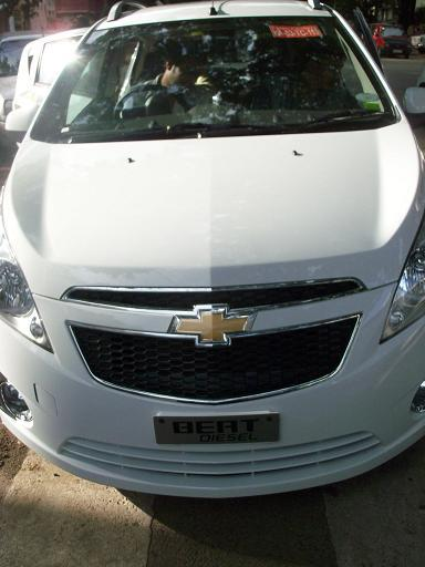 Chevrolet Beat Diesel Front Angle High View
