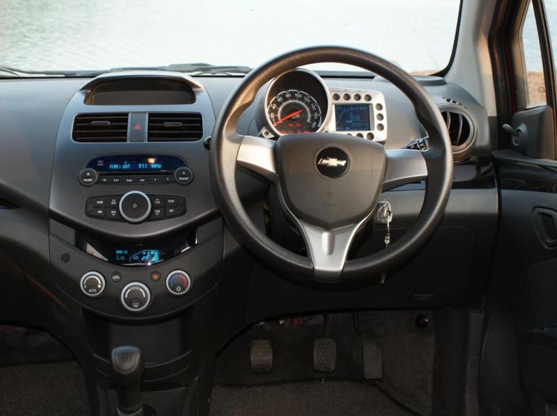 Chevrolet Beat Testdrive Dashboard