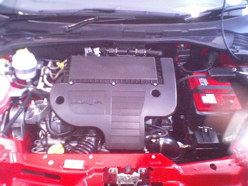 Fiat Grand Punto Engine