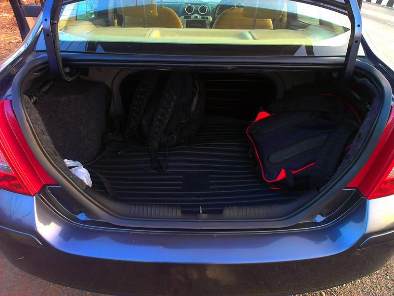 Ford Classic Boot space