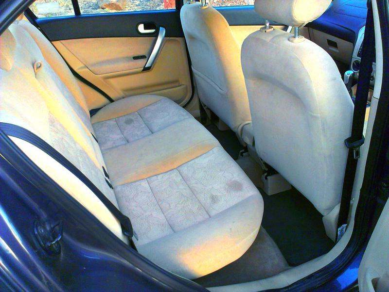 Ford Classic rear wheelbase