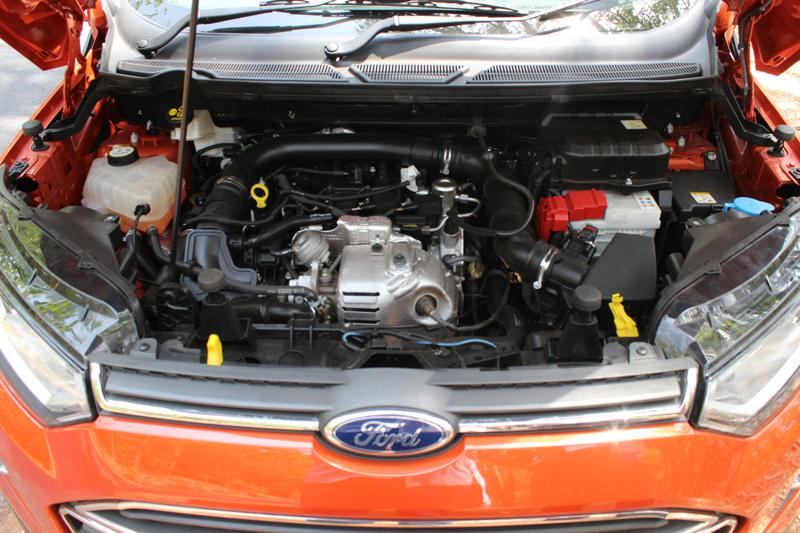 Ford EcoSport EcoBoost Engine