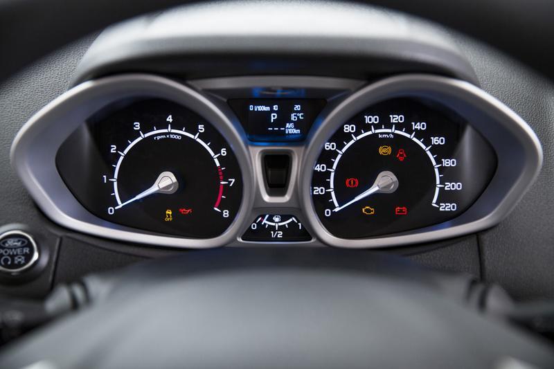 Ford EcoSport Instrumental panel