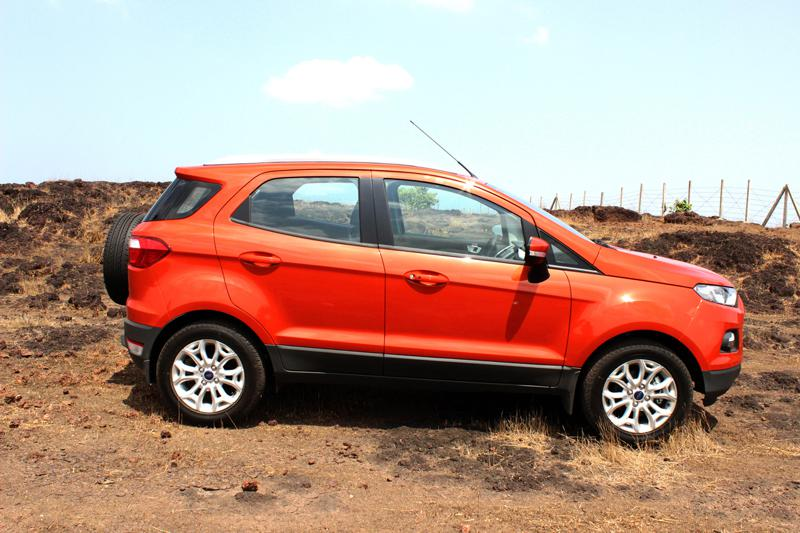 Ford EcoSport Length photo