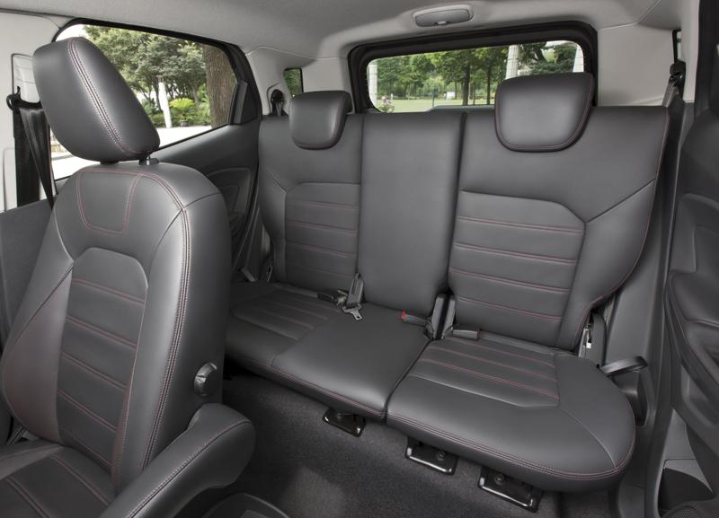 Ford EcoSport Rear Seats