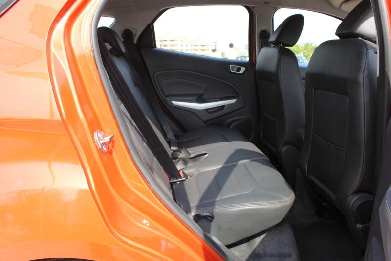 Ford EcoSport Rear legroom