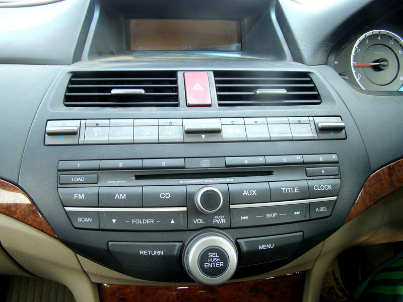 Honda Accord Central panel
