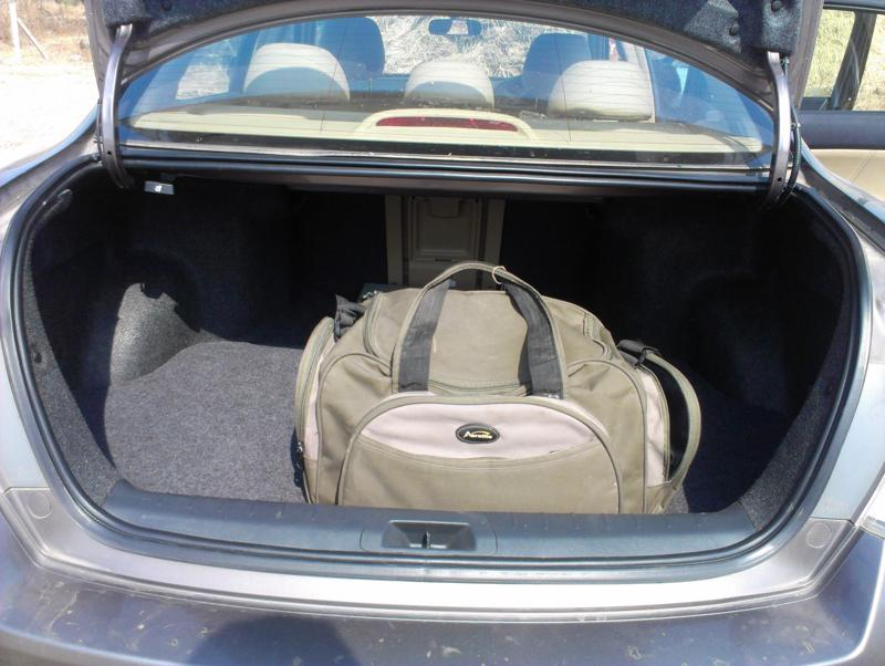 Honda Accord Luggage image