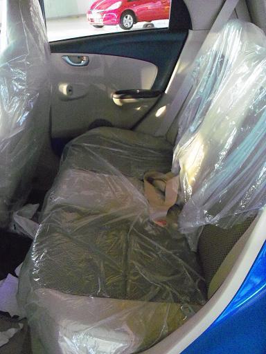 Honda Brio Seats 2