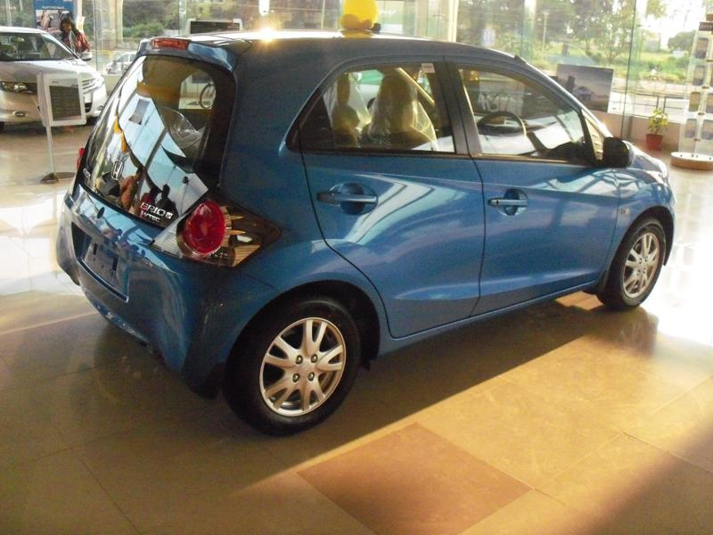 Honda Brio Rear View 2