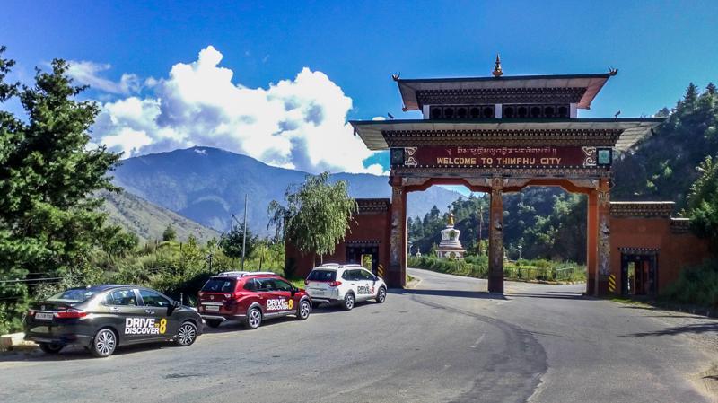 Honda Drive to Discover 8 - India to Bhutan