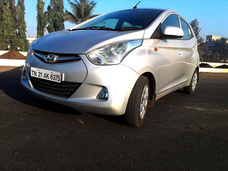 Hyundai Eon Front View Right