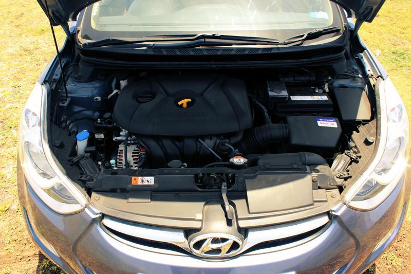 Hyundai Elantra Engine area