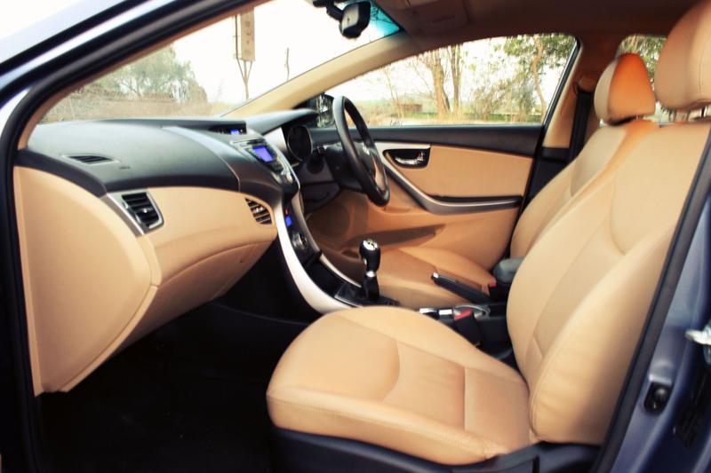 Hyundai Elantra Front space