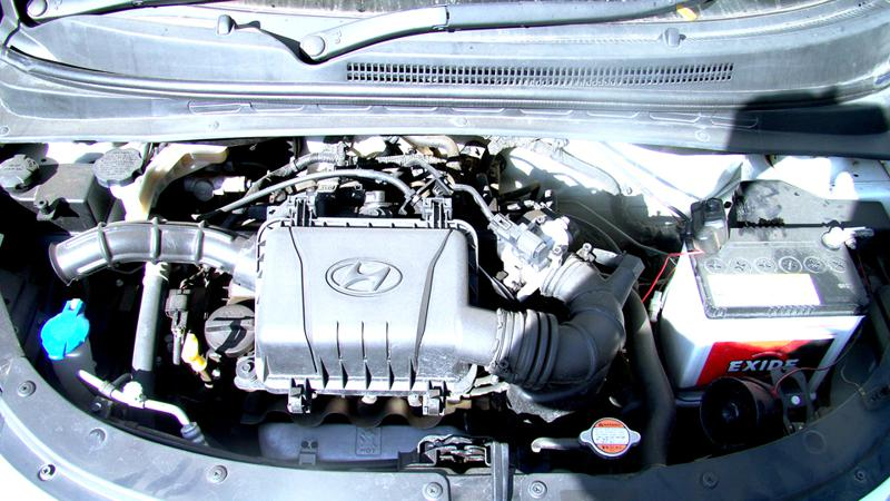 Hyundai i10 engine