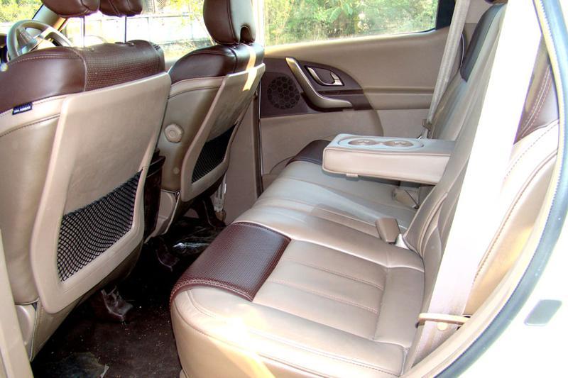 Mahindra XUV 500 Back Seat