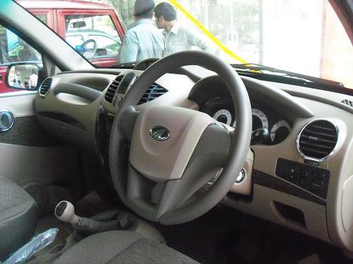 Mahindra Xylo Steering and Dashboard