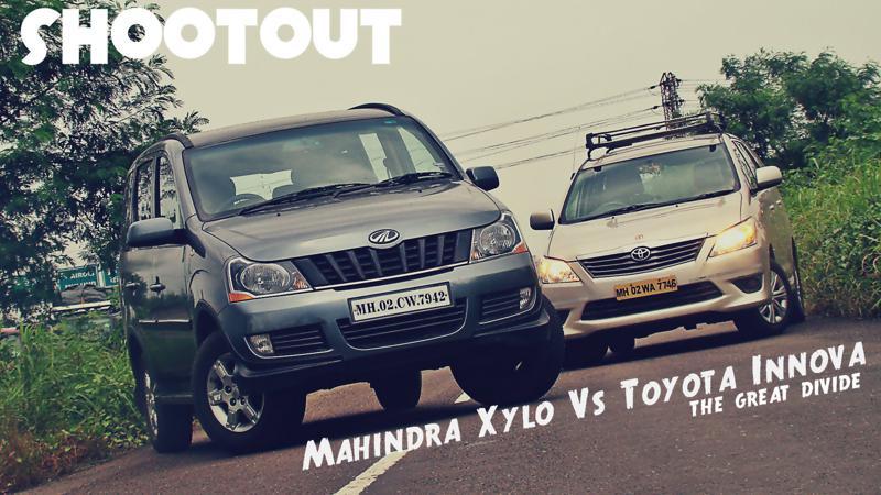 Mahidnra Xylo Vs Toyota Innova Mailer Pictures