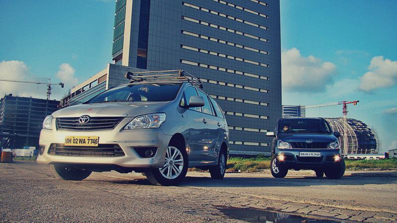 Mahidnra Xylo Vs Toyota Innova Pictures 5