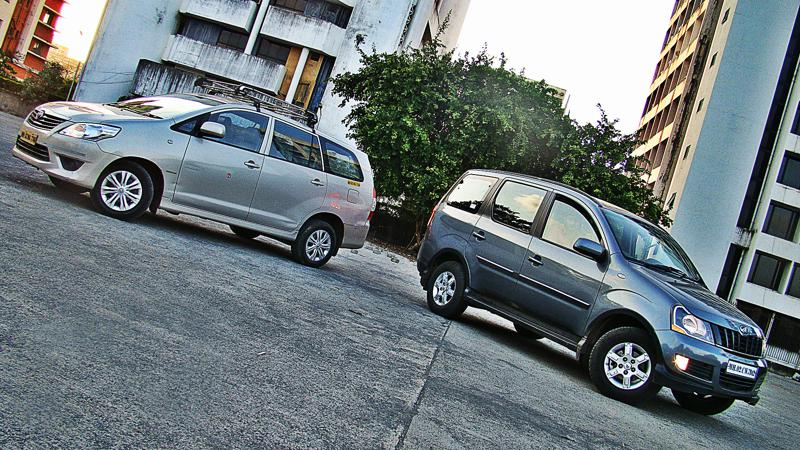 Mahidnra Xylo Vs Toyota Innova Pictures 7