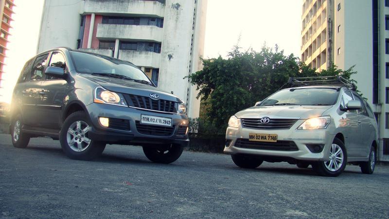 Mahidnra Xylo Vs Toyota Innova Pictures 8