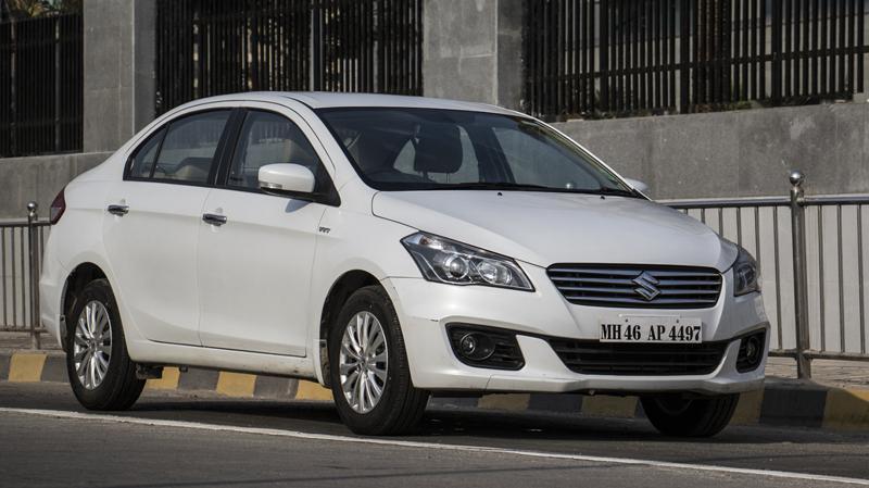 Maruti Suzuki Ciaz Automatic Review CarTrade Photos Images Pics India 20160303 02