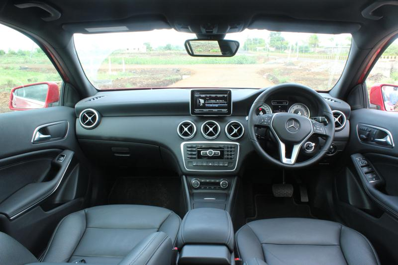 Mercedes Benz A Class Interior images 10