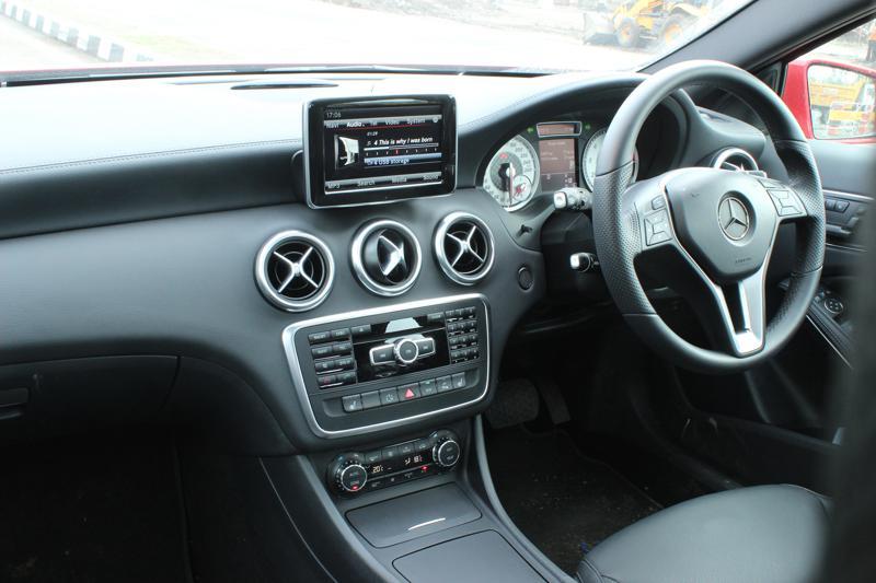 Mercedes Benz A Class Interior images 7
