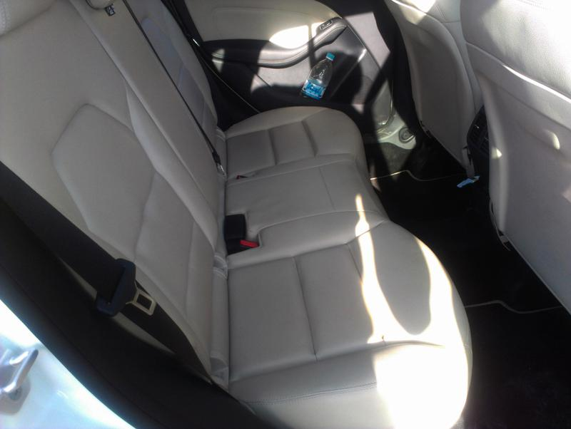Mercedes Benz B Class Rear Seats Image