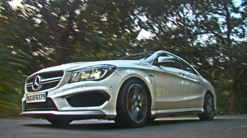 Mercedes Benz CLA45 Images 24