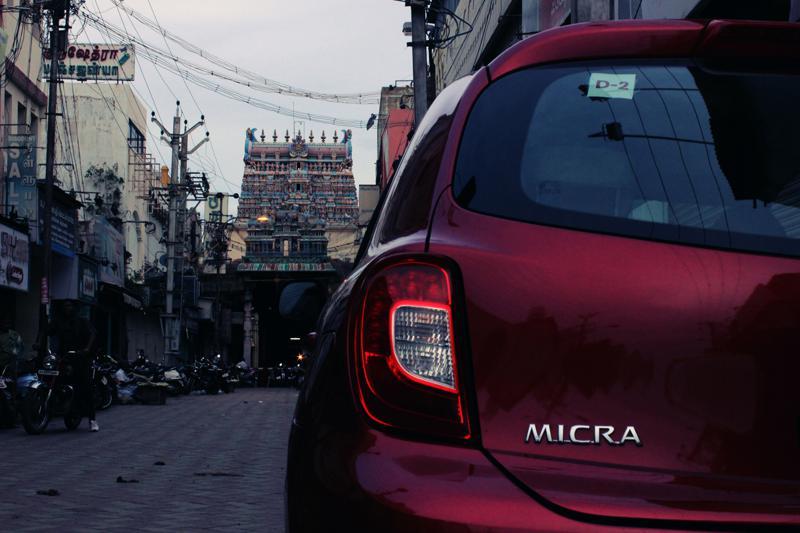 Nissan Micra Temple Shot