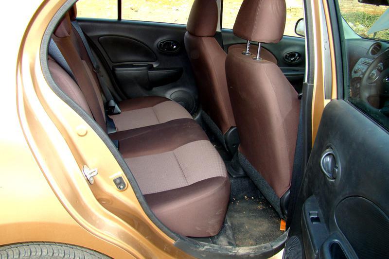 Renault Pulse Rear Seats
