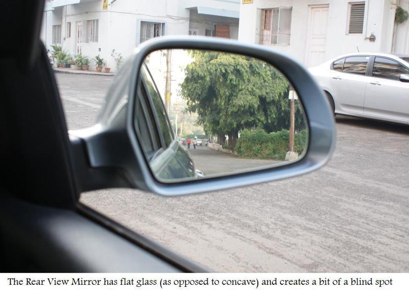 Skoda Superb V6 Car Exterior Rear View Mirror