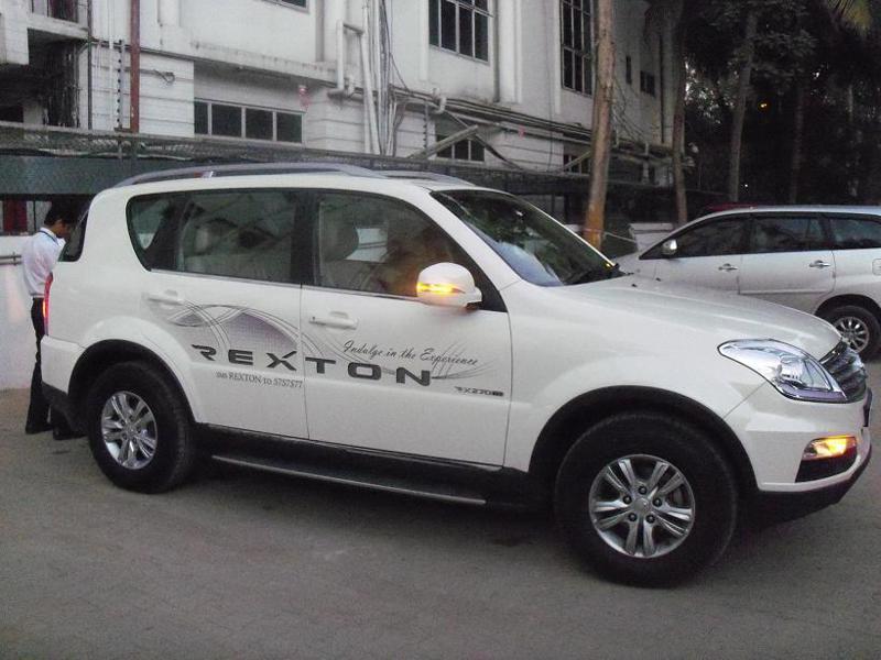 Ssangyong Rexton Exterior Image