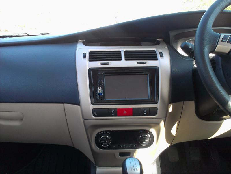 Tata Indica Vista D90 CentralConsole
