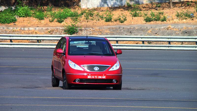 Tata Indica Vista D90 front face image