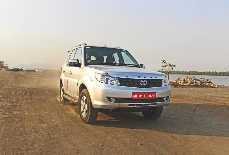 Tata Safari Storme Facelift Images 13