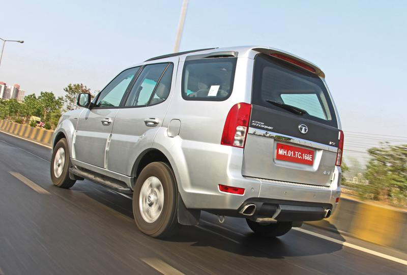 Tata Safari Storme Facelift Images 14