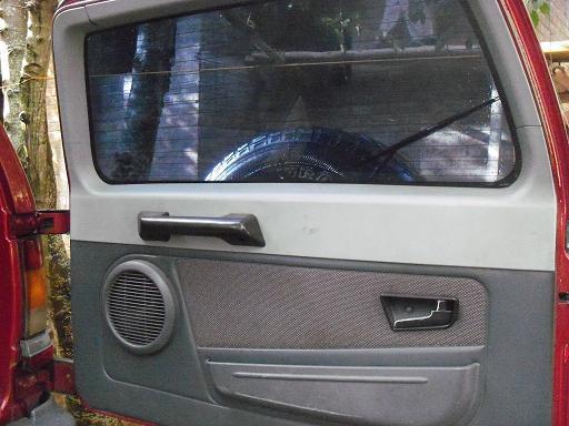 New Tata Safari door picture