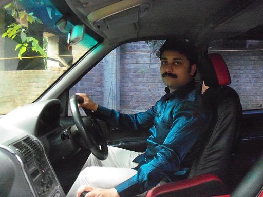 Tata Safari Driver Seat