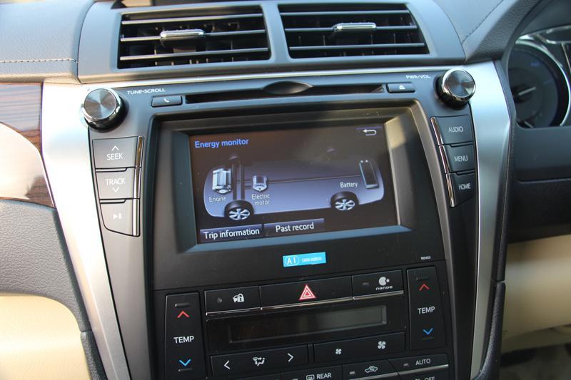 Toyota Camry Hybrid Images 12