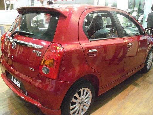 Toyota Etios Liva Rear Wheel