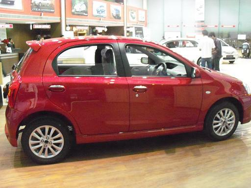 Toyota Etios Liva Side View Photo