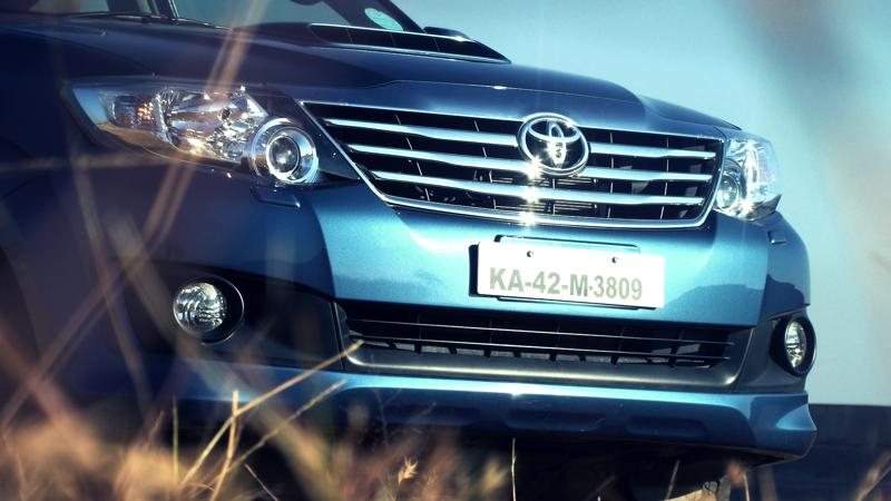 2012 Toyota Fortuner look