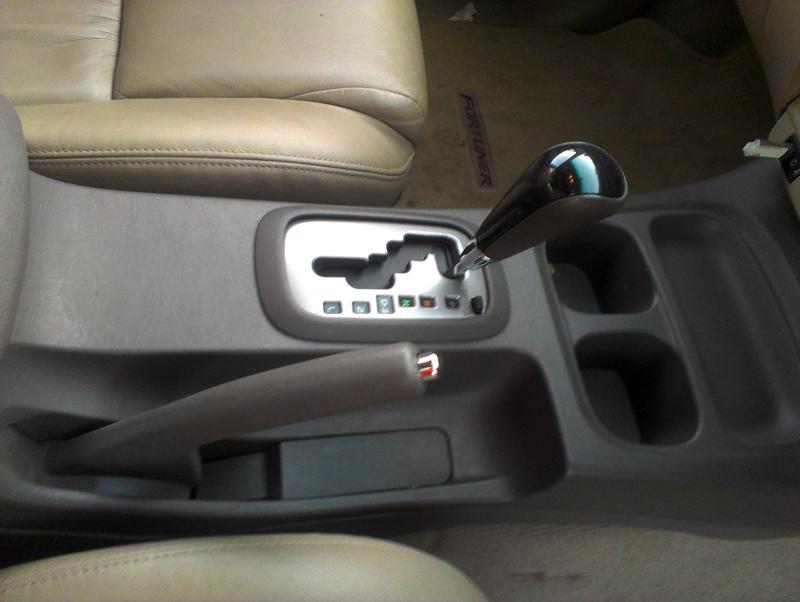 Toyota Fortuner central panel image