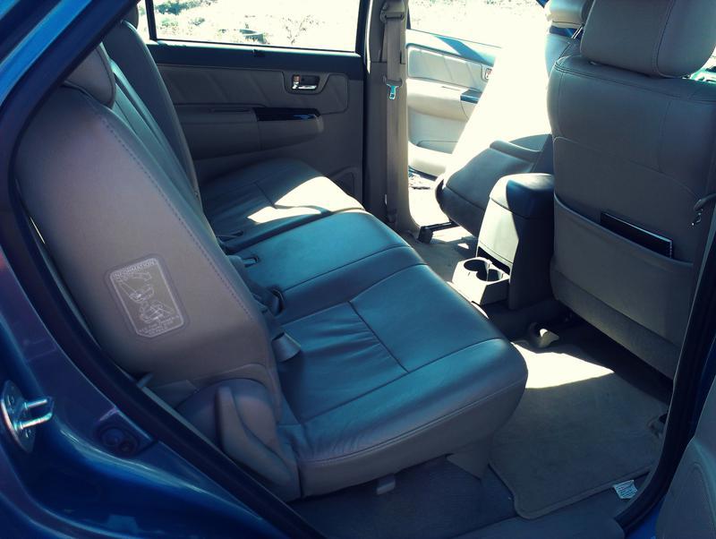 Toyota Fortuner front seat pocket images